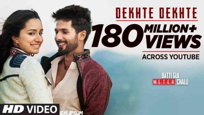 DEKHTE DEKHTE Lyrics in English, DEKHTE DEKHTE song Lyrics, Batti Gul Meter Chalu |Atif Aslam