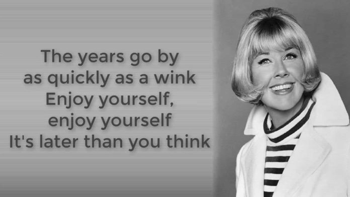 Doris Day - enjoy yourself song lytrics-Enjoy Yourself song lyrics was written by a famous American singer