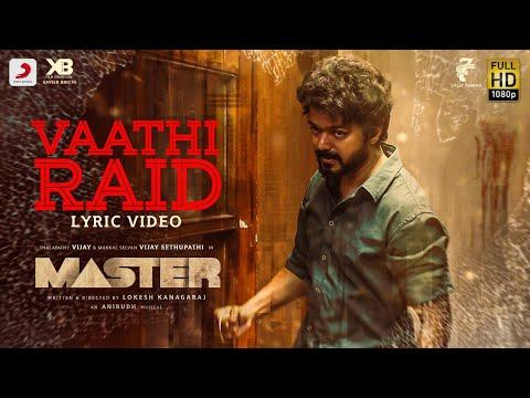 Vaathi Raid Lyrics in English