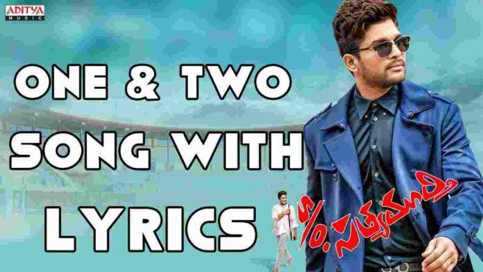 One & Two & Three & Four song Lyrics in English & Telugu - FindSongsLyrics.com